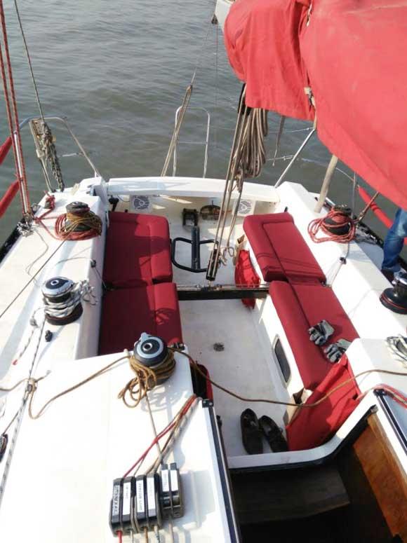 X-372 Yacht Sailing Mumbai